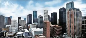 Panoramic Houston Skyline - USVA Realty