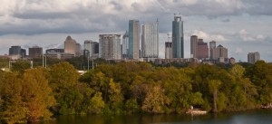 Austin city skyline - Texas VA home loan - USVA Realty